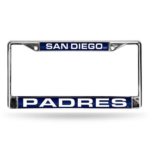 San Diego Padres License Plate Frame
