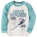 "Toddler Boy Carter's ""Space Explorer"" Raglan Tee"