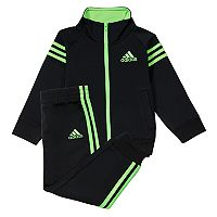 Toddler Boy adidas Signature Jacket & Pants Set