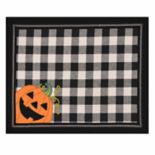 Celebrate Halloween Together Peeking Pumpkin Placemat