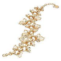 Dana Buchman Flower Petal Bracelet