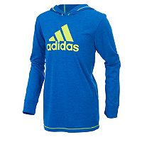 Toddler Boy adidas Hooded Graphic Pullover