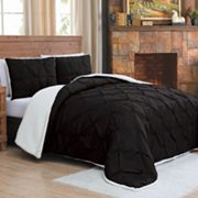 Avalanche Chandler Sherpa 3 pc Comforter Set