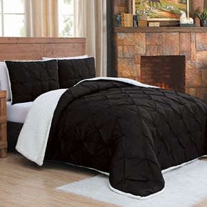 Avalanche Chandler Sherpa 3-piece Comforter Set