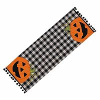 Celebrate Halloween Together Peeking Pumpkin Table Runner - 36