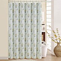 Waverly Paris Notebook Shower Curtain