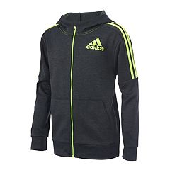 Toddler Boy adidas Hooded Fleece Jacket