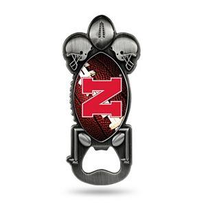 Nebraska Cornhuskers Party Starter Bottle Opener Magnet