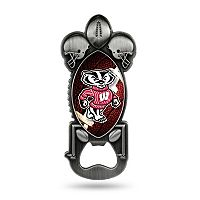 Wisconsin Badgers Party Starter Bottle Opener Magnet