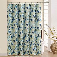 Waverly Leaf Storm Shower Curtain