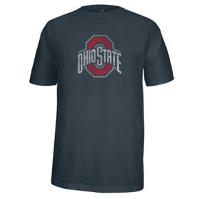 Men's Ohio State Buckeyes Heathered Flex Tee