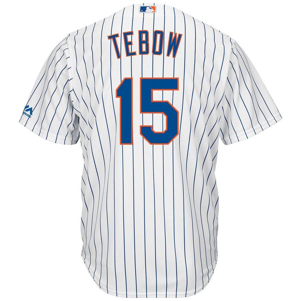 big sale 12fe4 d6fc2 Men's Majestic New York Mets Tim Tebow Jersey