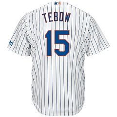 Men's Majestic New York Mets Tim Tebow Jersey