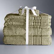 Simply Vera Vera Wang Signature 6 pc Bath Towel Set
