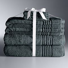 Simply Vera Vera Wang Signature 6 pc Bath Towel Set