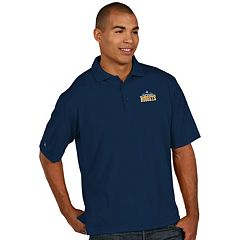 Men's Antigua Denver Nuggets Pique Xtra-Lite Polo
