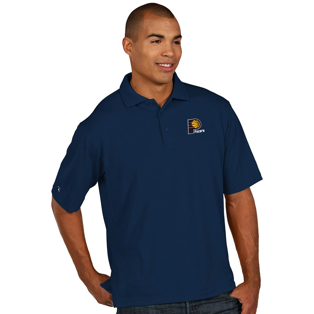 Men's Antigua Indiana Pacers Pique Xtra-Lite Polo