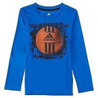 Boys 4-7x adidas Climalite Football Tee