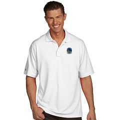 Men's Antigua Golden State Warriors Pique Xtra-Lite Polo