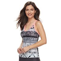 Women's ZeroXposur Printed Tankini Top