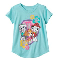Toddler Girl Jumping Beans® Paw Patrol Marshall, Skye & Everest Glittery Graphic Tee