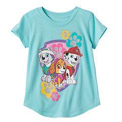 Toddler Girl Jumping Beans® Paw Patrol Marshall, Skye & Everest Glittery Graphic Tee