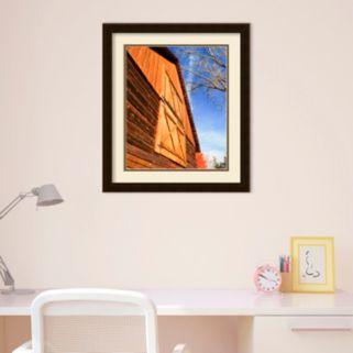 Amanti Art Old World Barn Framed Wall Art