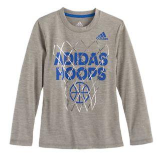 "Boys 4-7x adidas ""adidas Hoops"" Foil Graphic Tee"