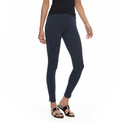 Utopia by HUE Ankle Slit Leggings