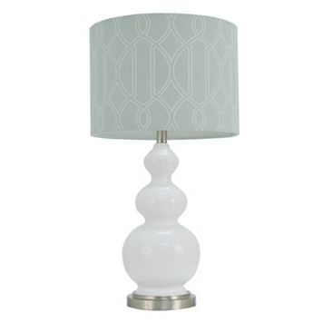 Decor Therapy Geometric Stacked Ball Table Lamp