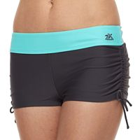 Women's ZeroXposur Cinched Boyshort Swim Bottoms