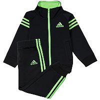 Boys 4-7x adidas Triple Stripe Tricot Jacket & Pants Set