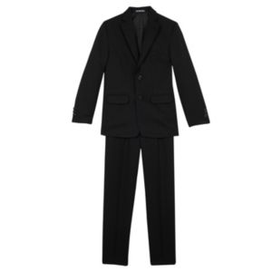 Boys 8-20 Van Heusen Herringbone 2-Piece Suit Set