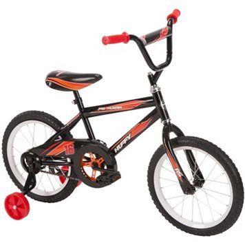 Youth Huffy 16-Inch Pro Thunder Bike with Training Wheels