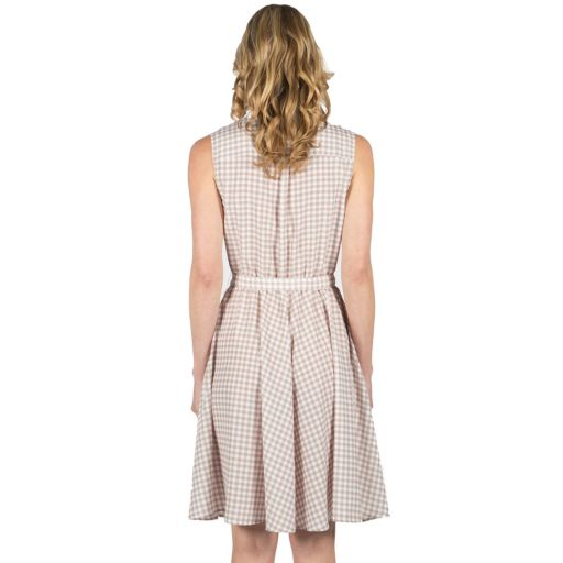Women's Larry Levine Fit & Flare Gingham Dress
