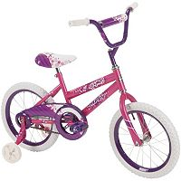 Youth Huffy 16-Inch So Sweet Bike with Training Wheels