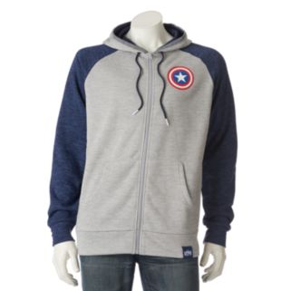 Men's Marvel Hero Elite Captain America Hoodie