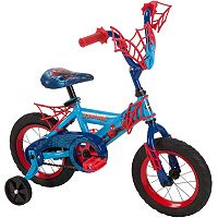 Youth Huffy Marvel Spider-Man12-Inch Bike with WebTrap Handlebar Plaque