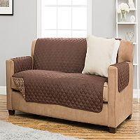 Home Fashion Designs Katrina Stain Resistant Sofa Slipcover