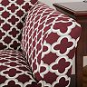 Home Fashion Designs Madison Collection Twill Form Fit Chair Slipcover