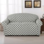 Home Fashion Designs Madison Collection Twill Form Fit Loveseat Slipcover