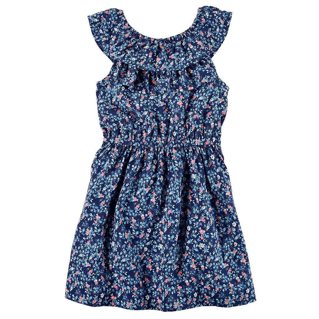 Girls 4-8 Carter's Floral Dress