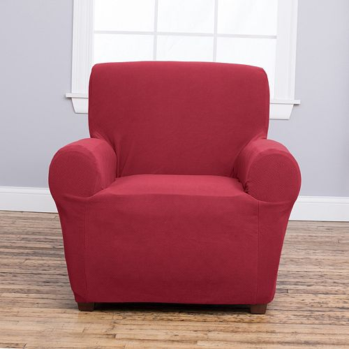 Home Fashion Designs Cambria Collection Luxury Plush Form Fit Chair Slipcover