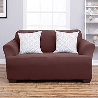 Home Fashion Designs Cambria Collection Luxury Plush Form Fit Sofa Slipcover