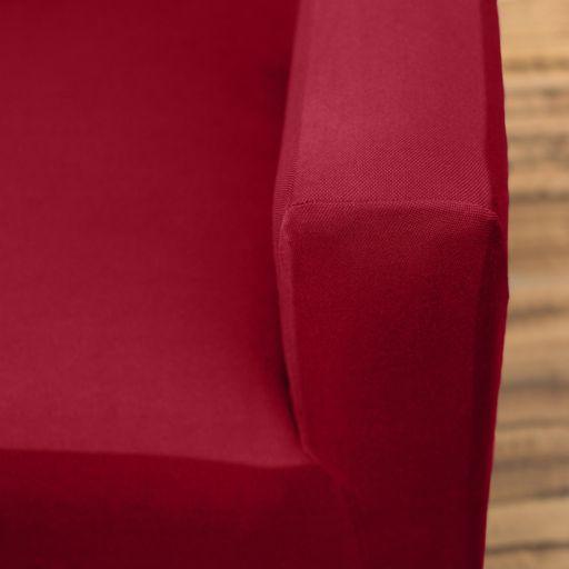 Home Fashion Designs Dawson Twill Form Fit Loveseat Slipcover