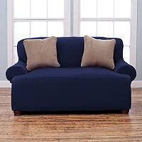 Home Fashion Designs Savannah Form Fit Loveseat Slipcover