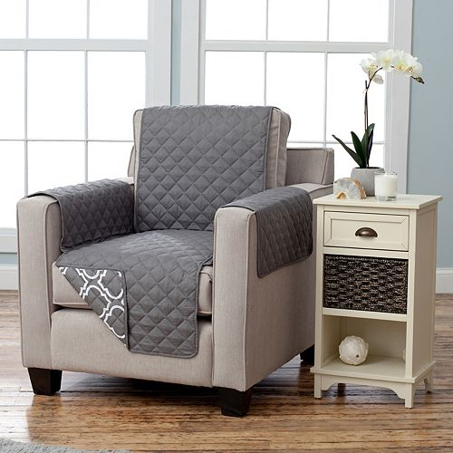 Home Fashion Designs Adalyn Collection Chair Slipcover