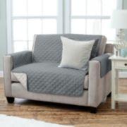 Home Fashion Designs Reversible Loveseat Slipcover