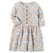 Girls 4-8 Carter's Flowy Floral Dress