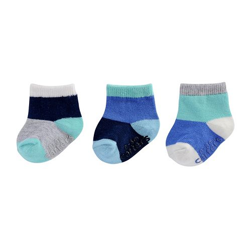 Baby Girl / Toddler Girl Carter's 3-pk. Printed Ankle Socks
